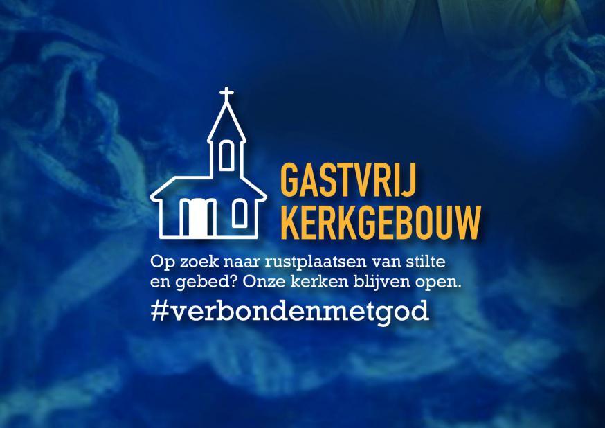 Gastvrije kerken.  © Claraparochie, ontwerp: Steven De Dapper - www.dezetterij.be