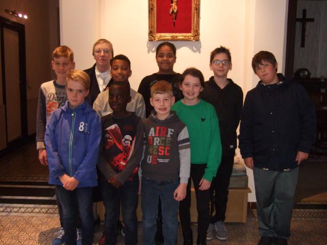 Catechesegroepje Zuster Jeannine