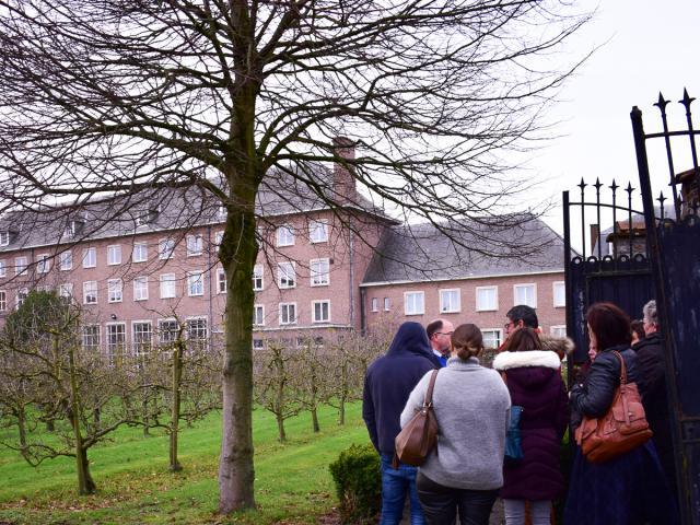 Bisdommedewerkers ontdekken Grootseminarie Ten Duinen © Sim D'Hertefelt - Bisdom Brugge