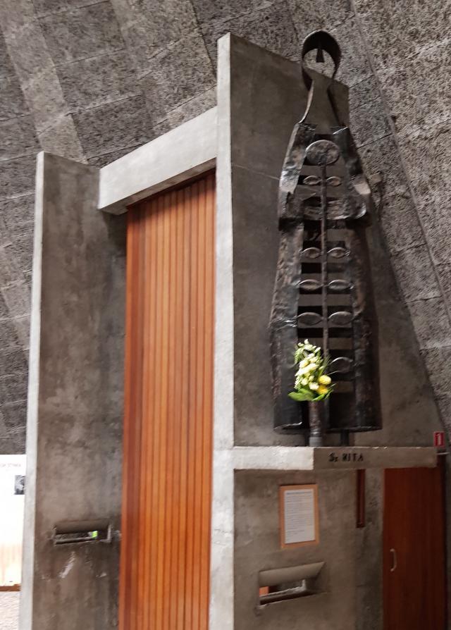 Heilige Rita, Sint-Ritakerk Harelbeke.