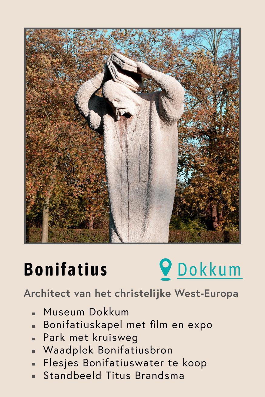 Bonifatius  in Dokkum © Foto: RomkeHoekstra, Wikimedia