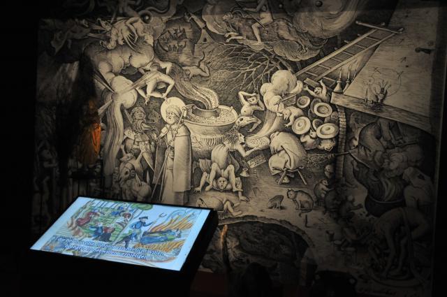 De tentoonstelling De heksen van Bruegel in Brugge © Philippe Keulemans