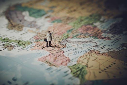 verbonden met de hele wereld © pexels