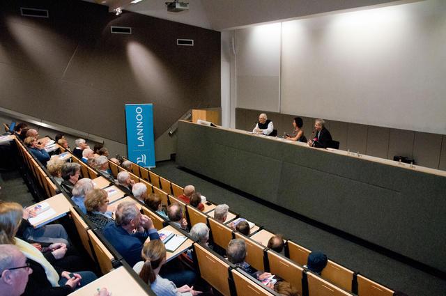 In debat bij boekvoorstelling van Ujtgeverij Lannoo © Philippe Keulemans