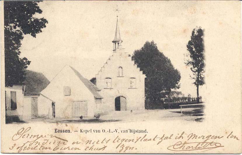 foto kapel van voor 1914
