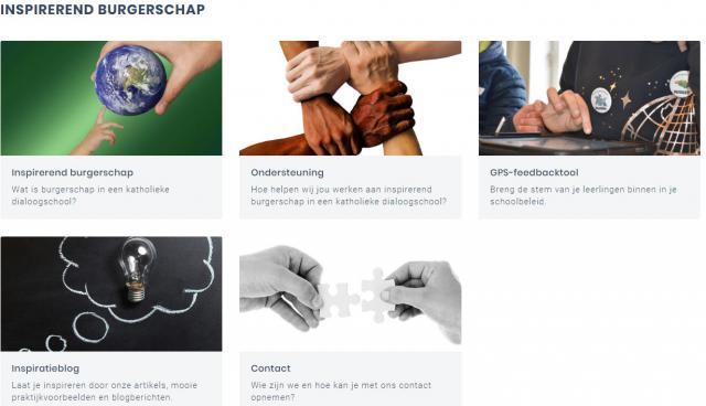 Website inspirerend burgerschap