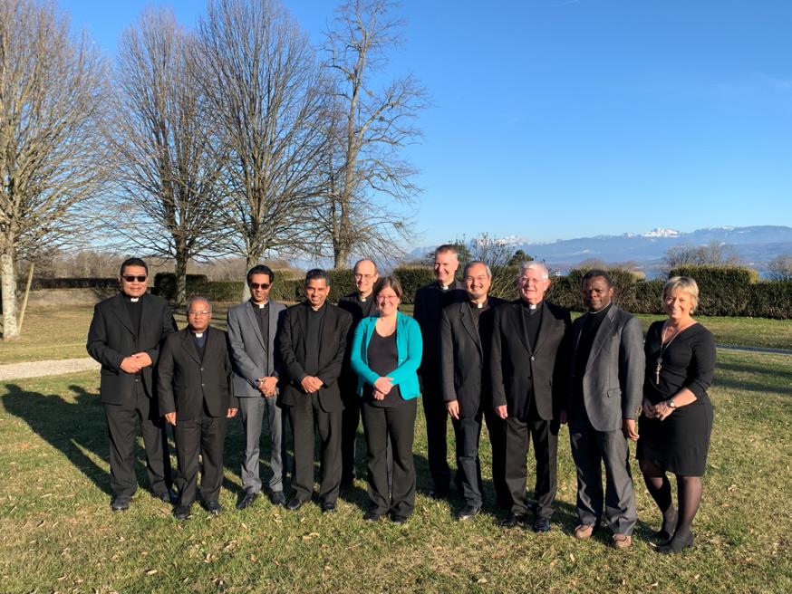 Afgevaardigden van de Pauselijke Raad voor Interreligieuze Dialoog en de Wereldraad van Kerken © WCC