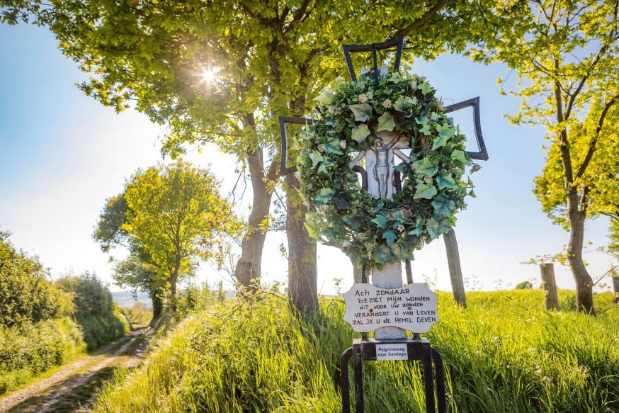 Camini's langs het Jacobspad naar Santiago de Compostella © Visit Zuid-Limburg
