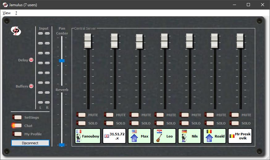 Dankzij de Jamulus software zingt iedereen meee © Jamulus