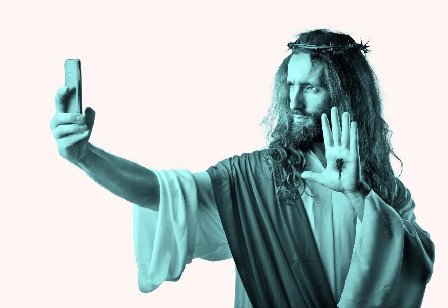 Jezus op internet