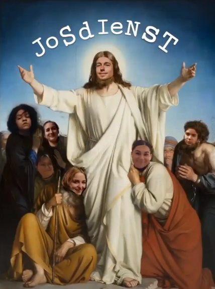 Of hoe de leerlingen van godsdienstlerares Joske Vrancken tonen hoe graag ze weer les willen krijgen. © Facebook