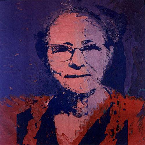 Andy Warhol, Julia Warhola © Wikiart