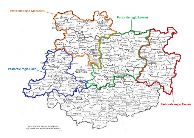 pastorale regio's