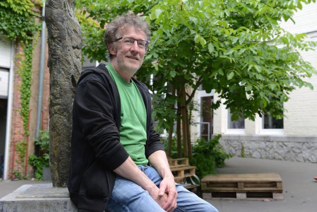 Karel Malfliet is stafmedewerker van Ecokerk. © Luc Gordts