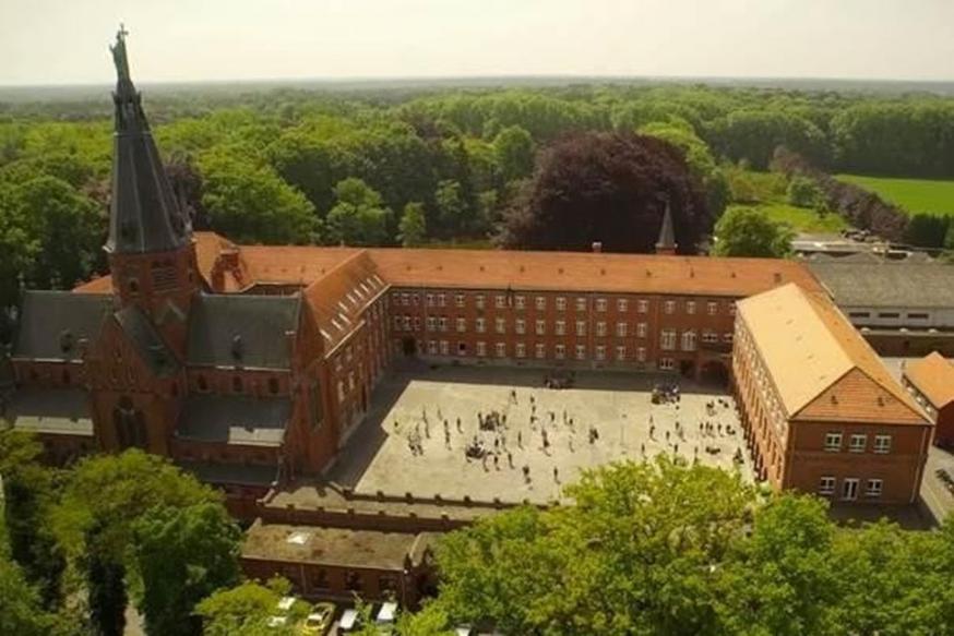 Het klooster van de redemptoristen in Essen © Kempens Landschap