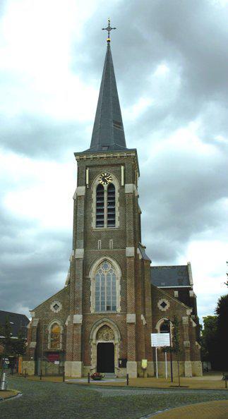 Onze-Lieve-Vrouwkerk, Kerkstraat, 1910 Kampenhout