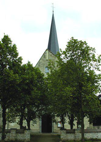 Sint-Stefanuskerk, Bogaertstraat, 1910 Nederokkerzeel