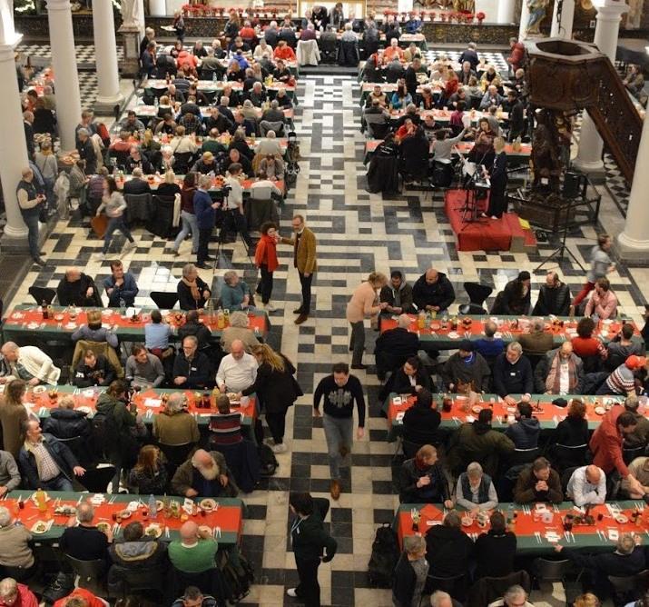 Kerstfeest met de vrijwilligers van Sant'Egidio © Sant'Egidio