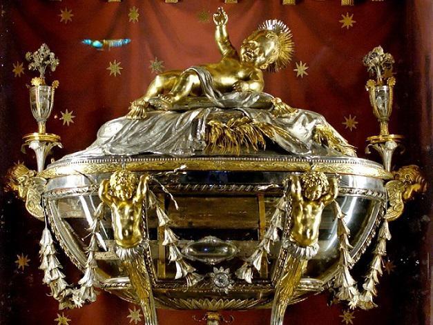 De kostbare relikwie van de kerststal © Santa Maria Maggiore