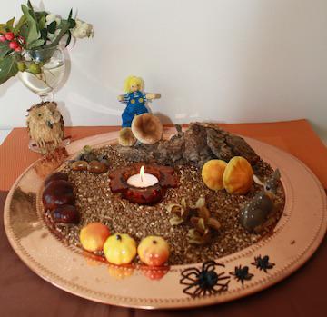 Kijktafel 'herfst' © Geloven thuis