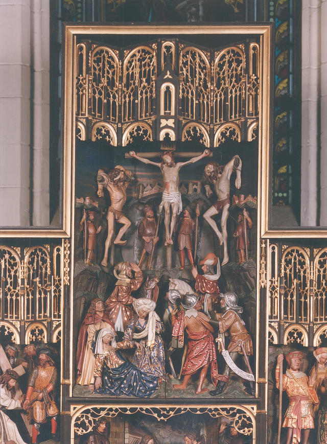 De kalvarie van Jezus © KIK