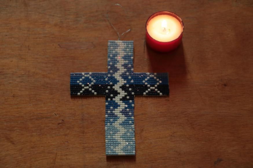 blauw kruis © François Moczara