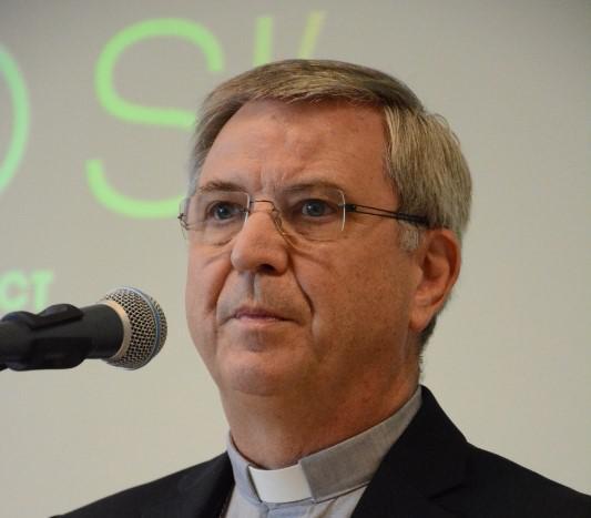 Bisschop Johan Bonny van Antwerpen op de opening van Laudato Si' © Sant'Egidio