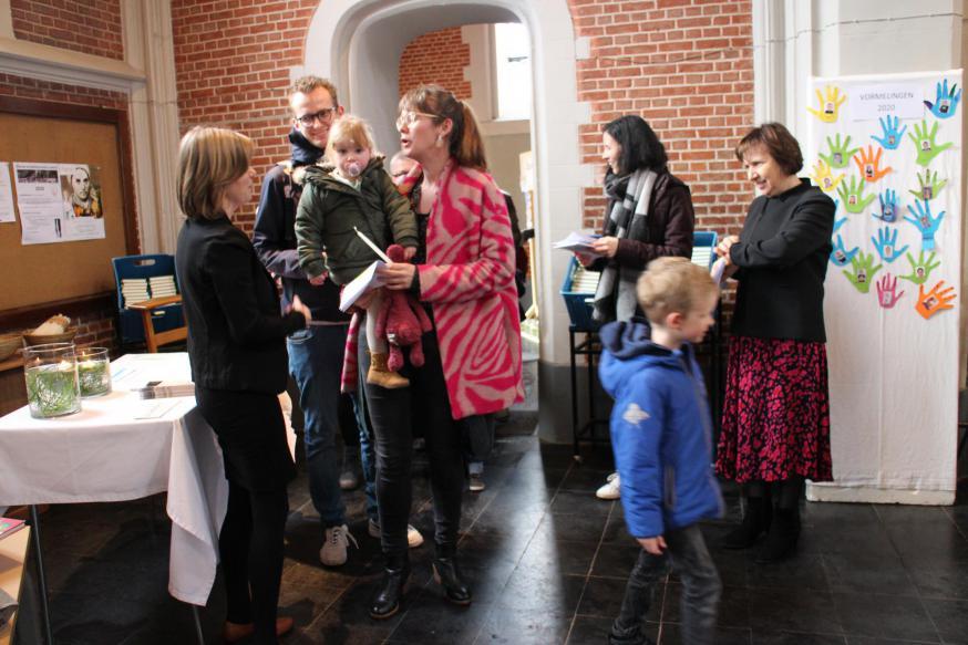 Iedereen wordt bij het binnenkomen hartelijk welkom geheten © RvH
