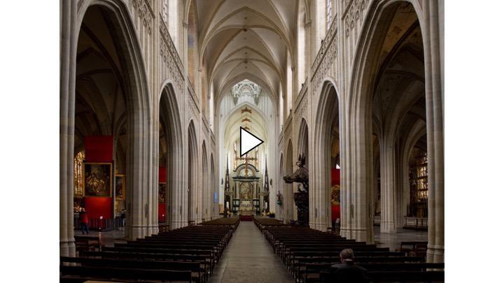 Bekijk de livestream vanuit de Onze-Lieve-Vrouwekathedraal in Antwerpen.