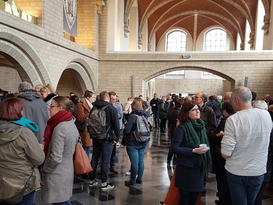 Ruim 300 deelnemers © Katholiek Onderwijs Vlaanderen