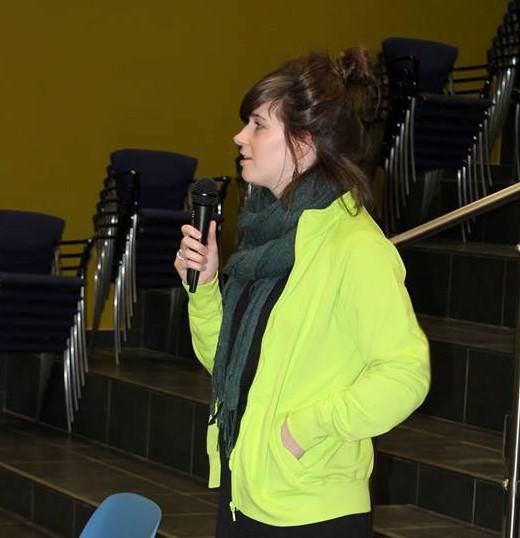Lotte getuigt over haar leven als christen en haar werk bij IJD Hasselt.