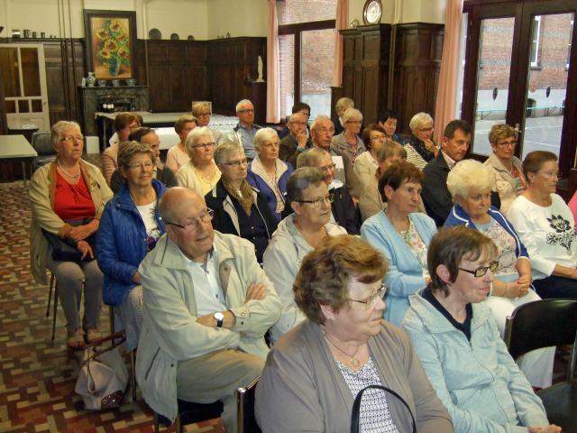 Infovergadering bedevaart naar Lourdes © E.H. Michel Bekaert