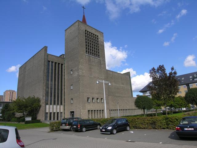 Kerk van Onze-Lieve-Vrouw-Boodschap op de Luchtbal