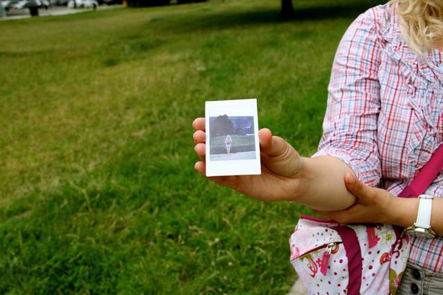 De polaroid van Magda © IJD