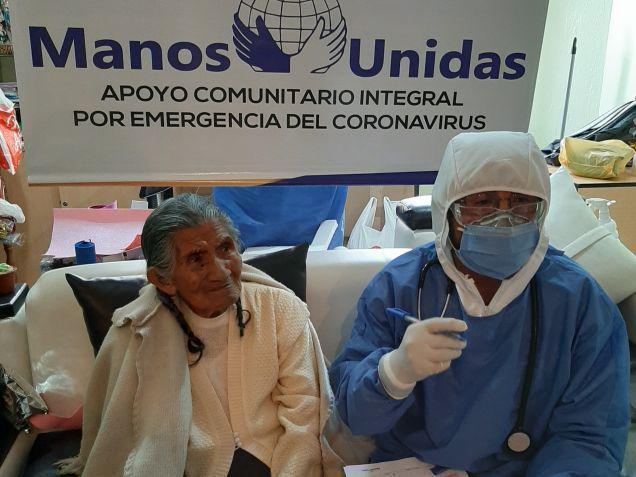 De ngo komt handen en middelen tekort © Manos Unidas