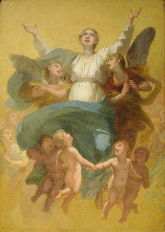 L'Assomption de la Vierge, Pierre-Paul Prud'hon (1758–1823). Foto: Wikimedia.