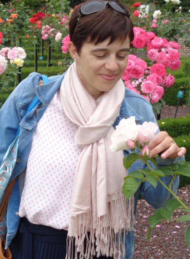 Marian D'Haese, auteur van 'Terug naar de bron. Verstillen bij Maria'. © Marian D'Haese