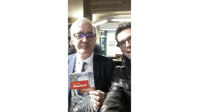 Selfie met auteur Mathijs Lamberigts