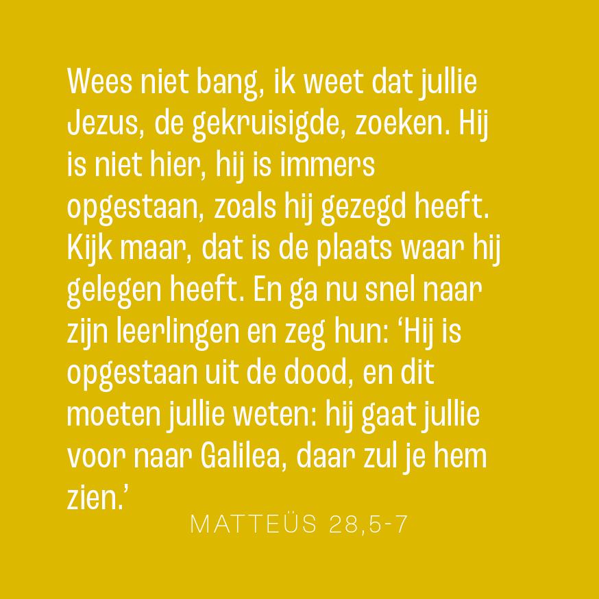 Pasen: vorm mij! © NBV 2004/2007 Nederlands Bijbelgenootschap