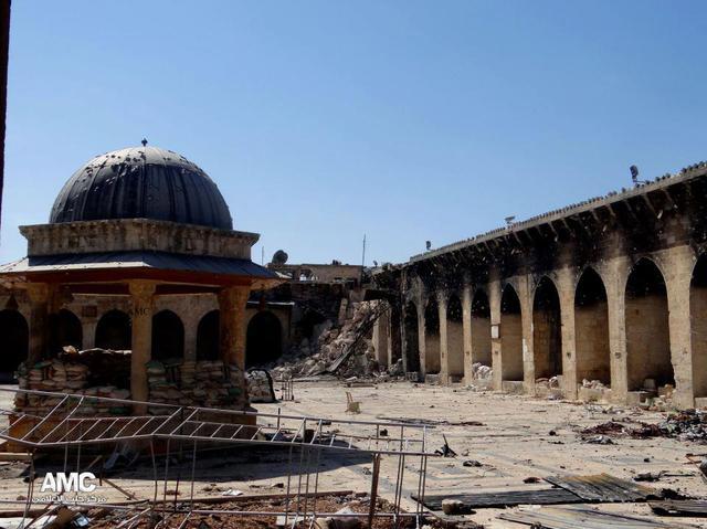 Zo ziet de soefistische moskee er sinds 2013 uit. © RR