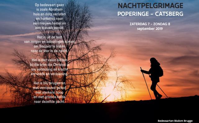 Nachtpelgrimage Poperinge-Catsberg