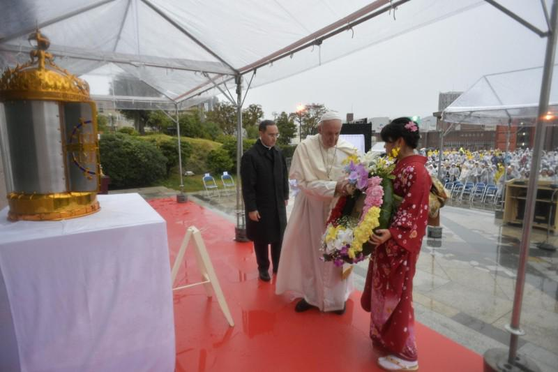 Eucharistie in Nagasaki © Vatican Media