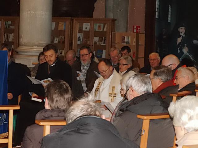 Oecumenische viering van 2018 in de Begijnhofkerk te Aalst.