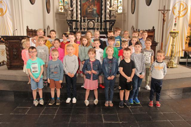 Kleurplaten Eucharistie.Eerste Communie 2018 Kerknet