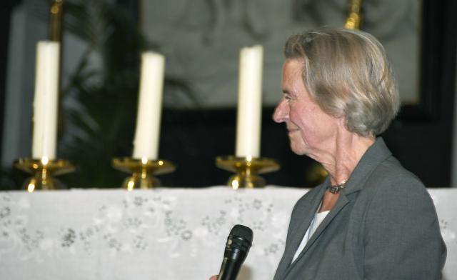 prof. Anne Van Grevenstein-Kruse © Maîtrise