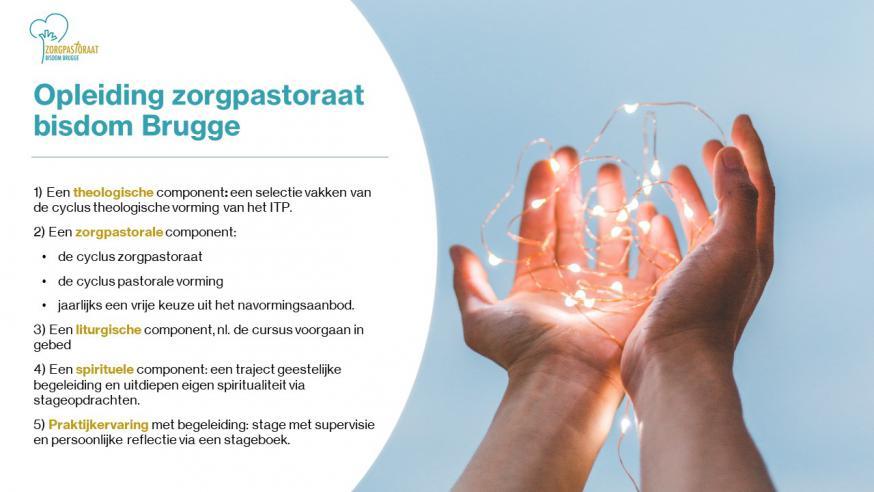 opleiding zorgpastoraat bisdom Brugge © dienst zorgpastoraat bisdom Brugge
