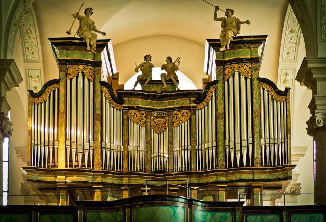 Engelen zingen Gods eeuwige lof