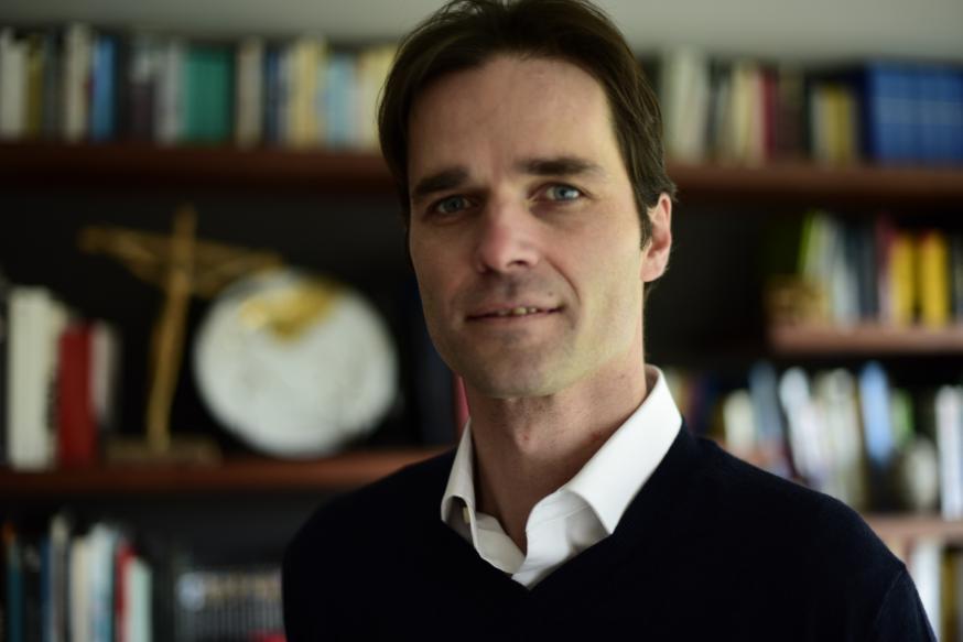 Koen Vlaeminck, hoofdredacteur van Kerknet. © Tertio