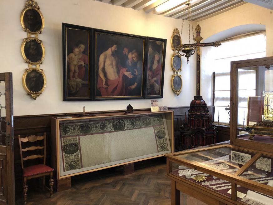 Het Kantmuseum van de Sint-Carolus Borromeuskerk © Sint-Carolus Borromeuskerk
