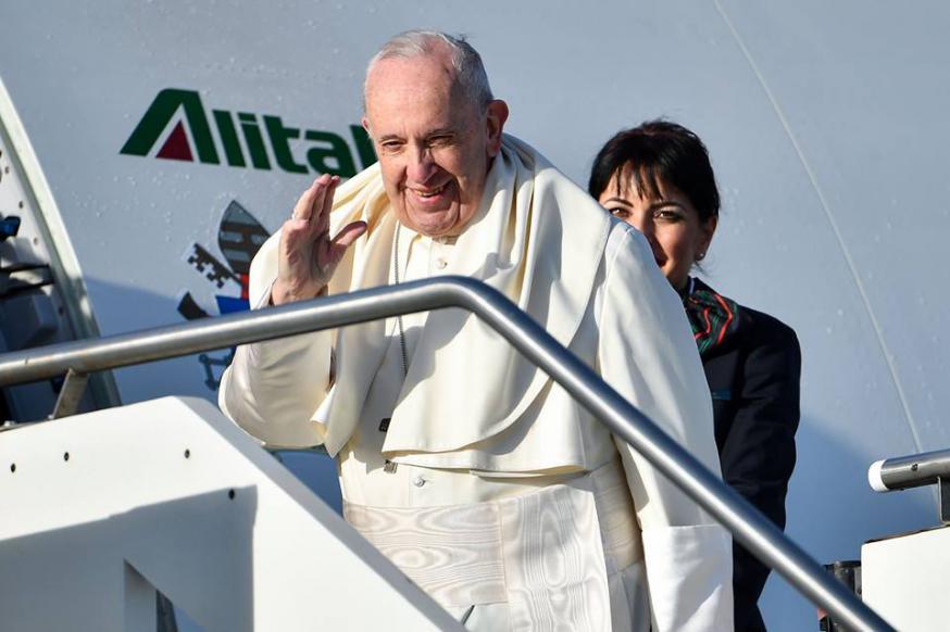 Paus Franciscus © WJD Panama 2019